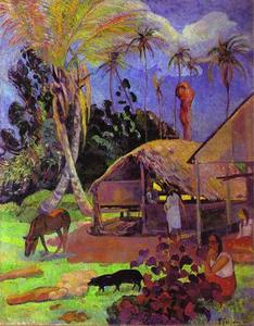 Paul Gauguin - noir porcs