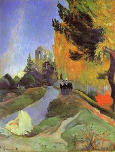 Paul Gauguin - Le Alyscamps