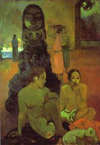 Paul Gauguin - les grands bouddha