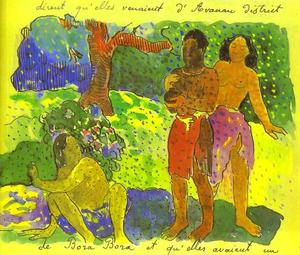 Paul Gauguin - Les Messagers de Oro