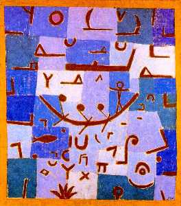 Paul Klee - Légende du Nil