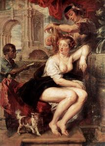 Peter Paul Rubens - bathsheba à l- fontaine