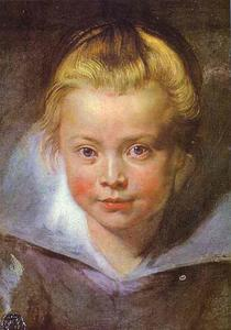 Peter Paul Rubens - chef d-un fille