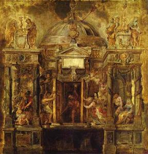 Peter Paul Rubens - Temple de Janus
