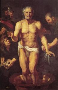 Peter Paul Rubens - La mort de Sénèque