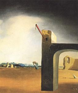 Salvador Dali - -Morphological Echo- , vers 1936