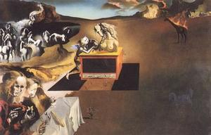 Salvador Dali - L Invention de  la  monstres  1937