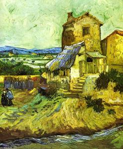 Vincent Van Gogh - l-ancienne mill