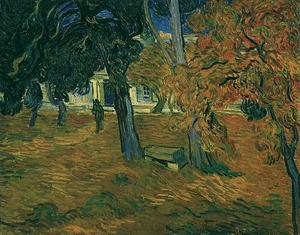 Vincent Van Gogh - Jardin de Saint-Paul Hopital , The7