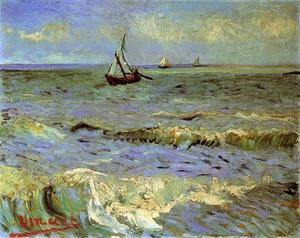 Vincent Van Gogh - Seascape à Saintes-Maries