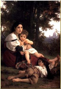 William Adolphe Bouguereau - Charité
