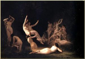 William Adolphe Bouguereau - Le Nymphée
