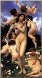 William Adolphe Bouguereau - le `return` des printemps