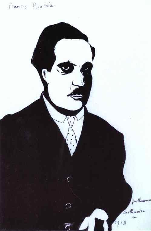 Guillaume Apollinaire en 1913 de Francis Picabia (1879-1953, France) |  | WahooArt.com