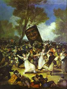 Francisco De Goya - l-enterrement de l- sardines