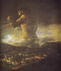 Francisco De Goya - Le Colossus