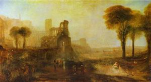 William Turner - Caligula-s Palais et Pont