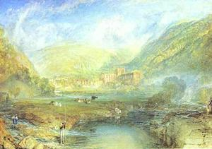 William Turner - Rivaulx Abbaye , Dans le yorkshire