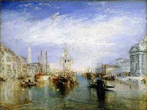 William Turner - Le Grand Canal à Venise