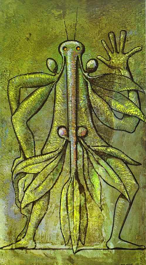 humaine forme, 1931 de Max Ernst (1891-1976, Germany) | WahooArt.com