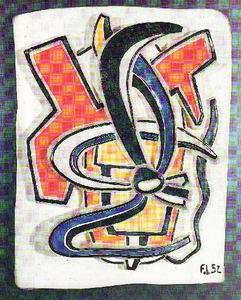 Fernand Leger - abstrait composition