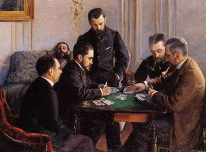 Gustave Caillebotte - Bézigue