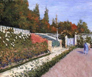 Gustave Caillebotte - Le Jardinier