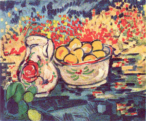 Maurice De Vlaminck - Apple a Still Life