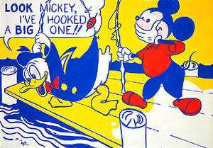 Roy Lichtenstein - Lookmickey