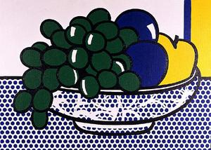 Roy Lichtenstein - Nature morte aux prunes