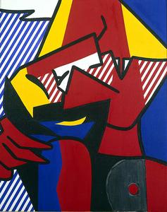 Roy Lichtenstein - desespoir
