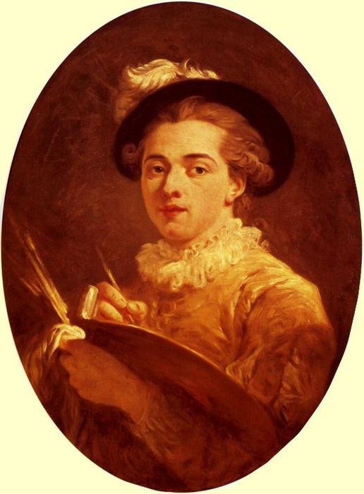 autoportrait de Jean-Honoré Fragonard (1732-1806, France)   Reproductions De Qualité Musée ...