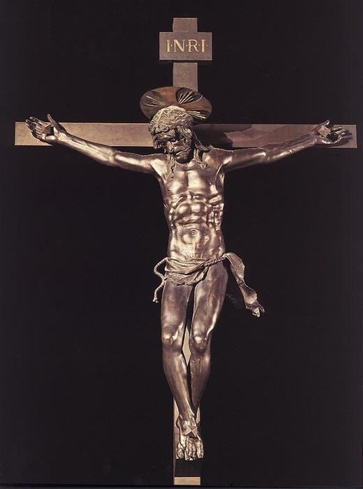 crucifix1, sculpture de Donatello (1386-1466, Italy)