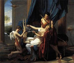 Jacques Louis David - Sappho et Phaon