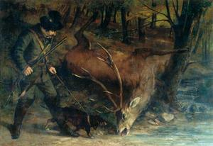 Gustave Courbet - The Huntsman allemand