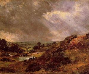 John Constable - Direction Hill Pond Hampstead