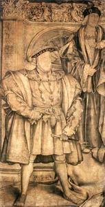 Hans Holbein The Younger - henry viii et henry vii