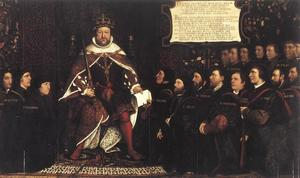 Hans Holbein The Younger - Henry VIII et les chirurgiens Barber