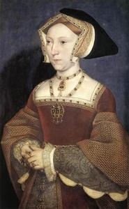 Hans Holbein The Younger - Jeanne Seymour , reine d angleterre