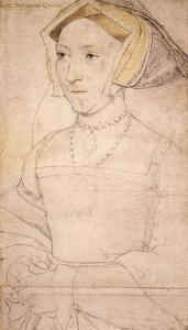 Hans Holbein The Younger - Jeanne Seymour