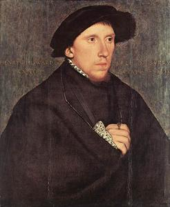 Hans Holbein The Younger - portrait de henry howard , le comte de surrey