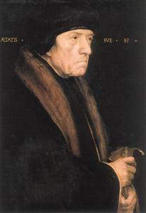 Hans Holbein The Younger - Portrait de John Chambers