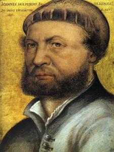 Hans Holbein The Younger - autoportrait