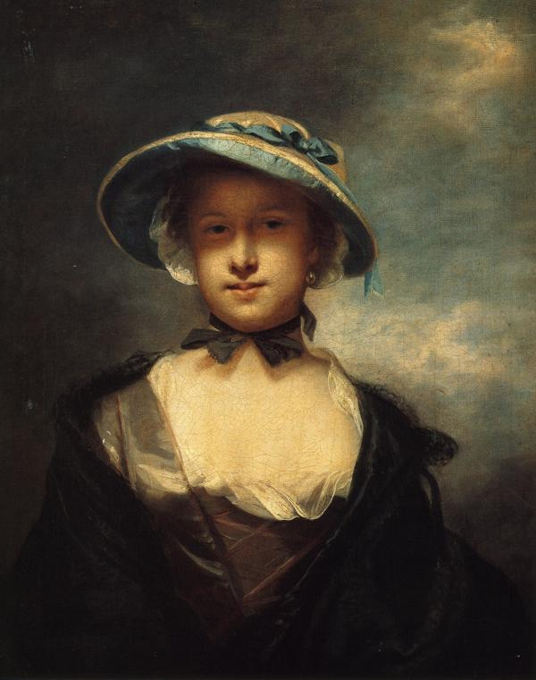 Achat Reproductions D'œuvres D'art | Catherine, dame Chambers, 1756 de Joshua Reynolds (1723-1792, United Kingdom) | WahooArt.com