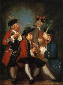 Joshua Reynolds - Monsieur thomas kennedy , james caulfeild , Grimston de m . ward et m . Phelps