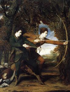Joshua Reynolds - Les Archers Le colonel Acland et Lord Sydney