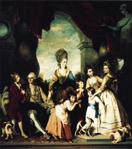 Joshua Reynolds - La famille Marlborough