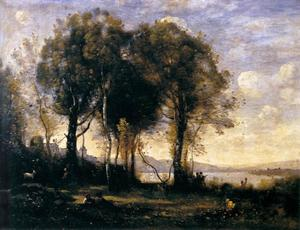 Jean Baptiste Camille Corot - Chevriers