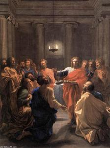 Nicolas Poussin - l'institution de  au  eucharistie