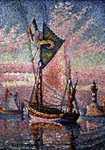 Paul Signac - Le Port de Concarneau